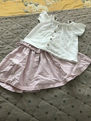Next Girls Top And Skirt Age 7