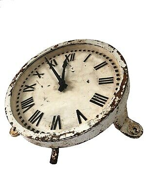 PRICE REDUCED Cast Iron Gents Of Leicester Industrial Railway Factory Wall Clock
