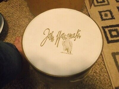 Vintage John Wanamaker department store hat box
