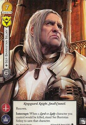 A Game of Thrones Promo Card - Ser Barristan Selmy