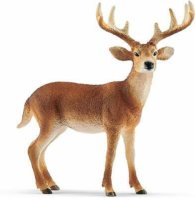 Schleich WhiteTailed Buck Toy Figure High Quality Figure Home Decor