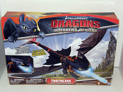 "How To Train Your Dragon Defenders Berk Toothless Large 22"" Wingspan Dreamworks"