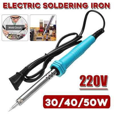220V 30W/40W/50W Electric Temperature Gun Welding Soldering Iron Tool Solder Kit