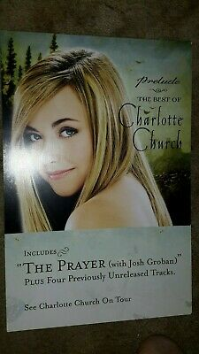 Charlotte-Church-The-Best-Of-1 Poster Flat-2 Sided-12X18Inches-Nmint