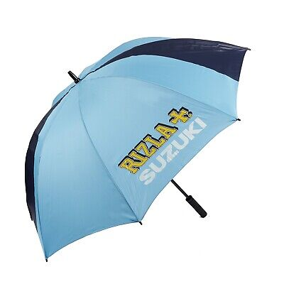 UMBRELLA Large BSB MotoGP Bike Rizla Suzuki Team NEW Full Size (50 inch/128cms)