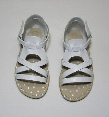 Toddler Girls Two Piece Slide Sandals White NWT, Cat & Jack