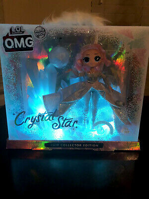 LOL Surprise OMG CRYSTAL STAR 2019 Collector Doll Winter Disco Glitter  NEW