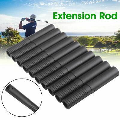 10X Golf Club Shaft Extension Extender Rods for Graphite Wood Irons Driver Steel