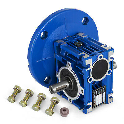 NMRV30 right angle worm gearbox / speed reducer / size 30 / 14mm  Dual Shaft