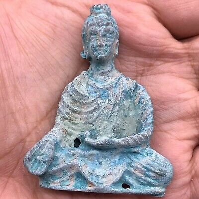 Afghanistan Ancient gandhara bronze small wonderful Statue