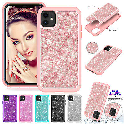 For iPhone 11 Pro Max XS XR 8 Plus 7 6s Case Luxury Rubber TPU Shockproof Cover