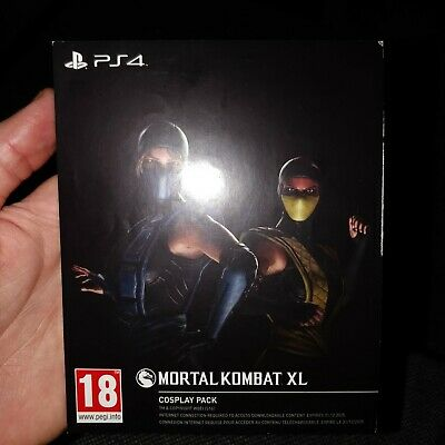 Mortal Kombat XL Cosplay Pack Code PS4