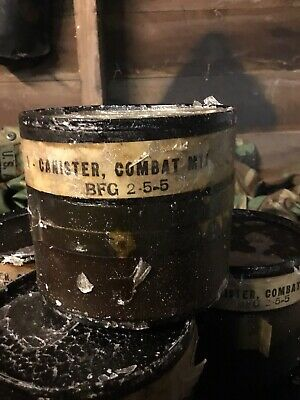 US MILITARY ARMY M11 M 5 11 Combat GAS MASK UNOPENED FILTER