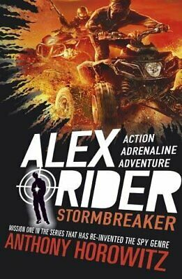 Stormbreaker (Alex Rider) by Anthony Horowitz New Paperback Book