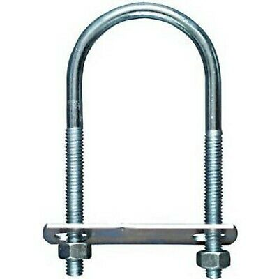 "Stanley National Hardware 2190BC #882-1//2/""x4-1//2/""x7/"" Zinc Plated U Bolt w//Plate"