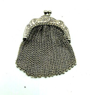 Edwardian Ladies Steel Purse circa 1905