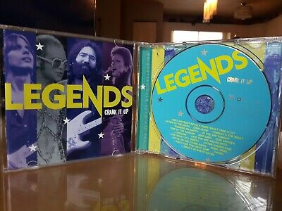 Legends Crank It Up. Time-Life compilation. 2003. Near Mint!