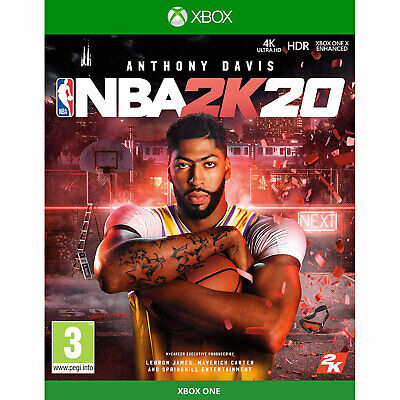 NBA 2K20 XBOX ONE Basketball New and Sealed