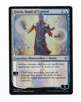 1x Dovin Hand of Control War of the Spark WAR MTG M//NM