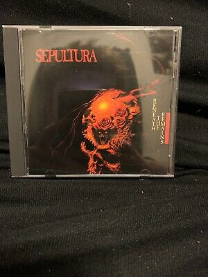 Sepultura-Beneath The Remains CD FIRST PRESS*
