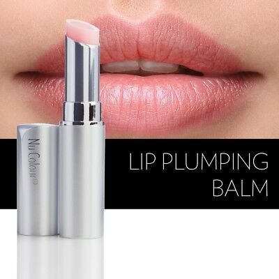 Genuine Nu Skin LIP PLUMPING BALM - With a Hint of Pink RRP £23.50 BRAND NEW