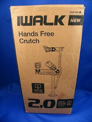 iWALK2.0 Hands Free Knee Crutch Alternative for Crutches and Knee Scooters New