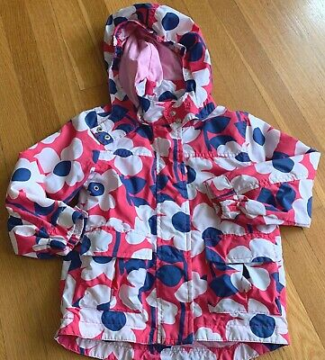 Mini Boden Girl's Size 3-4 Year Pink Floral Lightweight Jacket 3T 4T