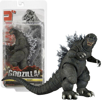 "NECA Godzilla 2001 Movie Classic 6"" Action Figure 12"" Head To Tail Doll New Seal"