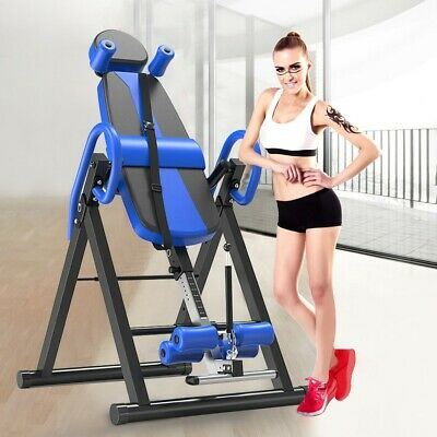 Inversion Therapy Table Back Pain 300 Lb Capacity Locking Inverter Machine NEW