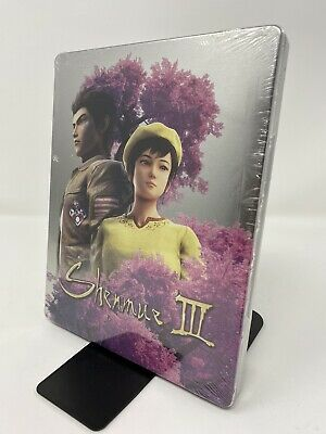Shenmue 3 III Limited Edition Steelbook Case *NO GAME*