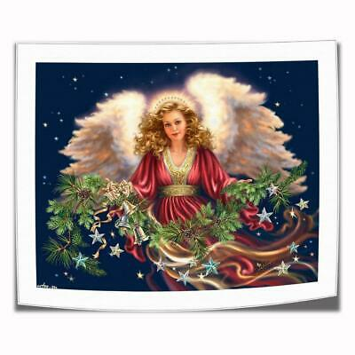 "16""x22""The angel in red Paintings HD Print on Canvas Home Decor Wall Art Picture"