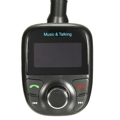 Car Kit Hands Free MP3 Play FM Transimittervs Lcd Display USB TF