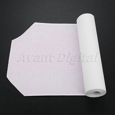 1 Roll 210mm*20m Clinic Thermal Printing Paper For ECG EKG Machine 12-channel