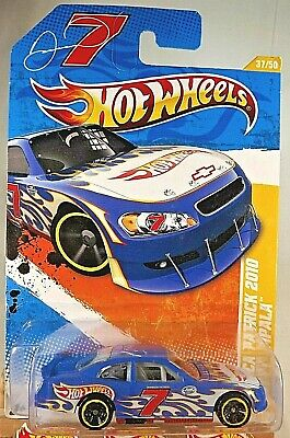 2011 Hot Wheels #37 New Models 37/50 DANICA PATRICK 2010 CHEVY IMPALA Blue w/MC5