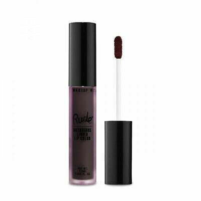 RUDE? Notorious Liquid Lip Color - Deeply Disturbed (Free Ship)