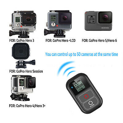 SHOOT XTGP183 Smart WiFi Remote Controller Waterproof for GoPro Hero1-4/session