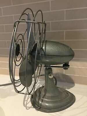 Vintage Fan In Excellent Conditon Brand: Westinghouse Colour Green