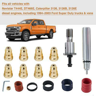 Injector Sleeve Cup Removal Installation Tool Kit Fit For Ford 7.3L 1994 - 2003