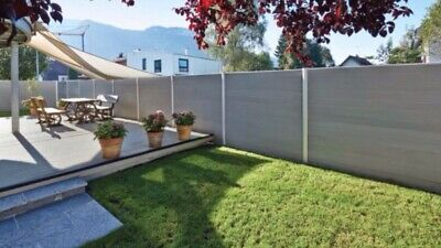 Composite Fencing that fits into existing concete posts