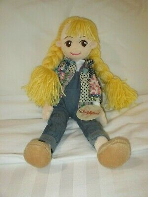 """NWT Dollywood Exclusive Dolly Parton's Coat of Many Colors Doll 15"""""""