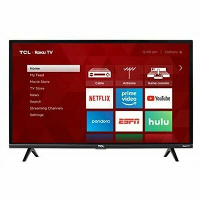 TCL 32S327 32-Inch 1080p HDMI Roku Smart HD LED TV (2018 Model) | FREE TWO DAY