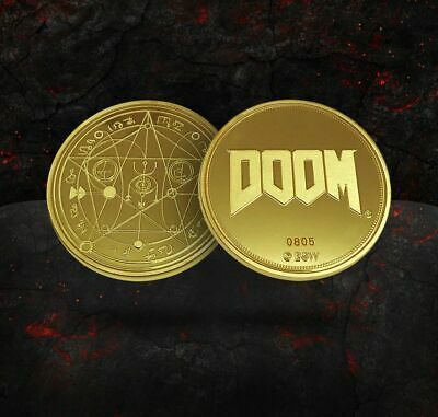 Doom - 25th anniversary limited edition Gold coin EGX Exclusive