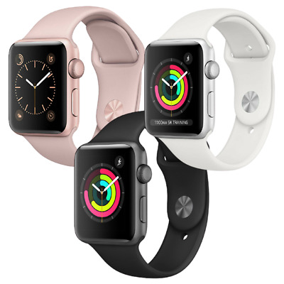 Apple Watch Series 3 - 38mm - GPS - Gold, Silver, or Space Gray
