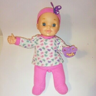 2015 New Adventures Vinyl Baby Doll Interactive Battery Powered Doll 30cm