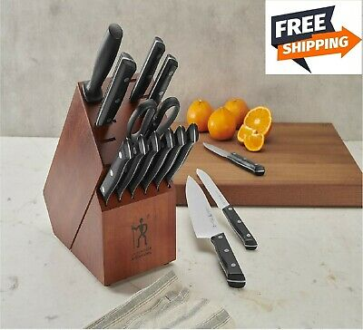 Henckels Dynamic 15-Piece Knife Block Set High Quality Stainless Steel