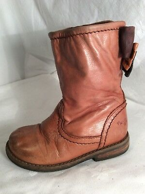 NEXT Kids Girls Leather Boots Size 7
