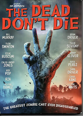 The Dead Don't Die [New DVD, 2019] - Bill Murray - Free US Shipping