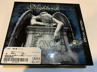 Nightwish Once Special Edition 2 Cd Set Box Press Original Cd Album Authentic