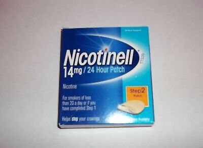 NICOTINELL 14mg PATCHES - Step 2 X 7  (OUT OF DATE)