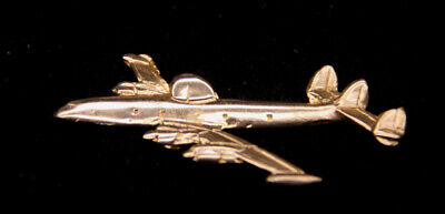 P-2 NEPTUNE P2V HAT LAPEL PIN UP MDE IN US NAVY GLD PLATED 3D PIN USS ASW WOW